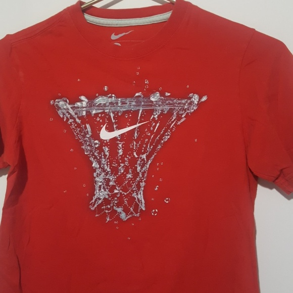 Nike Other - Boys red nike tshirt size Medium